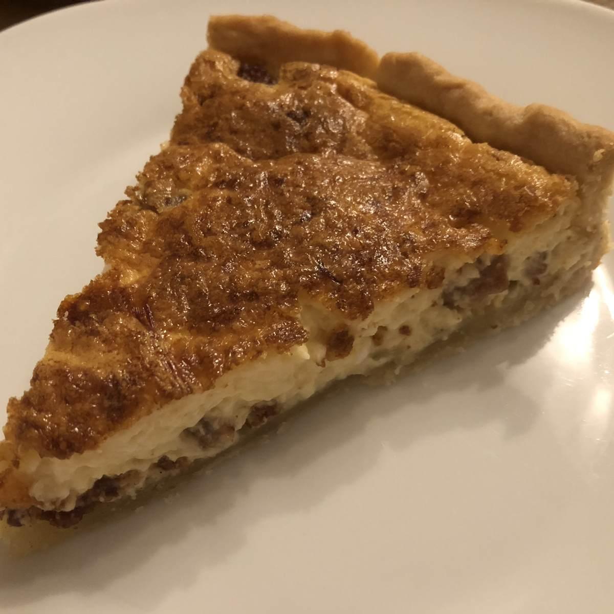 Gehacktes-Torte – Rezept für Hackfleisch-Quiche