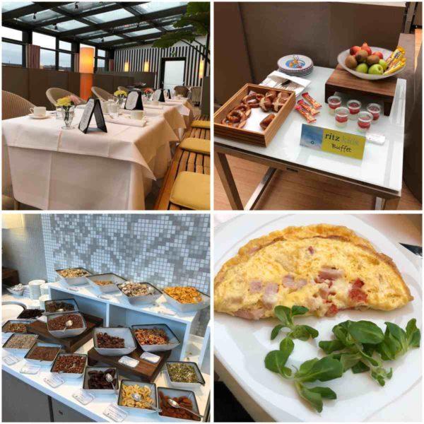 Frühstück im 5 Sterne Hotel Ritz-Carlton in Wolfsburg