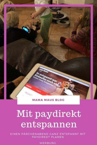 Werbung - mit Hilfe von paydirekt ganz entspannt einen Pärchenabend planen und ganz nebenbei bei den paydirekt Wellnesswochen einen Wellnessgutschein nach Wahl erhalten. Auf dem Blog lest ihr wie das geht. #sparkasse #paydirekt #wellness
