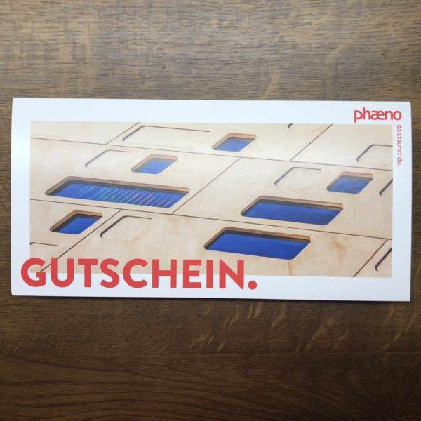 Gutschein für das phaeno in Wolfsburg