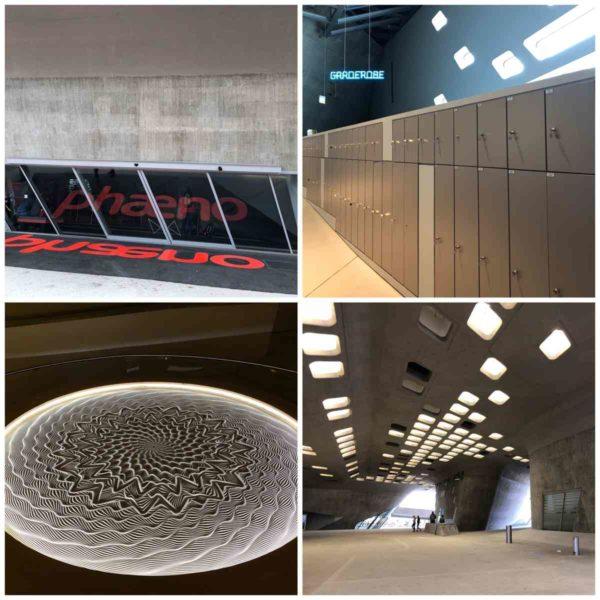 beeindruckende Architektur des phaeno in Wolfsburg