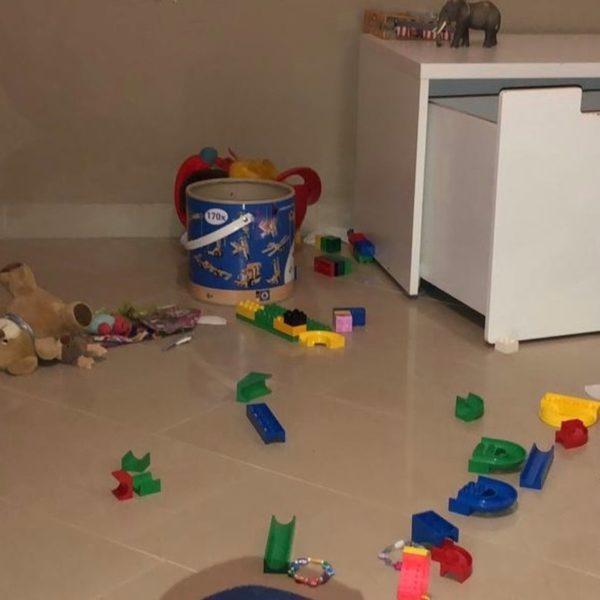 Chaos im Kinderzimmer beseitigen