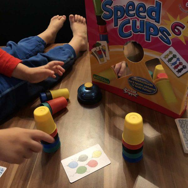 Speed Cups 6 von Amigo - Brettspiel für Kinder