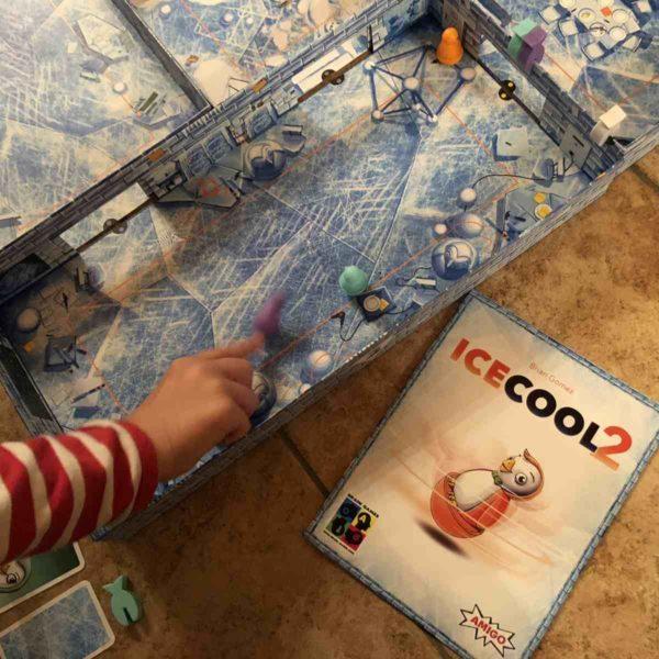 Amigo ICECOOL2 - Brettspiel für Kinder