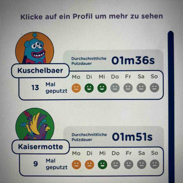 Playbrush Zahnputzstatistik