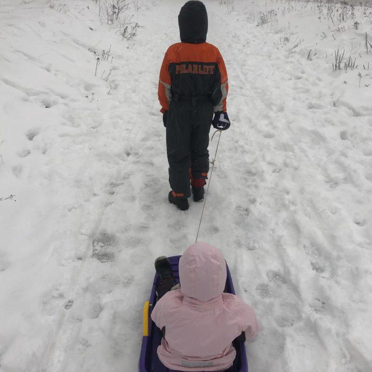 12 von 12 – 01 2019 – Ab in den Schnee