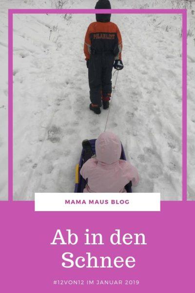 12 Bilder unseres Tages. Mit Hausaufgaben am Wochenende, einem Schneekopf, Wandern mit dem Schlitten und leckerem Essen. #Famileinalltag #Großfamilie #Familienleben #LebenmitKindern #12von12