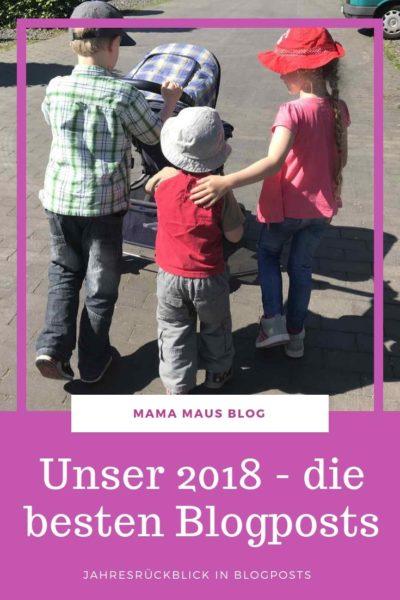 Der Jahresrückblick 2018 in Blogposts. Meine liebsten Artikel für jeden Monat, viele Bilder aus unserem Leben. 2018 mit der Großfamilie. #Familieleben #Jahresrückblick #Großfamilie #VierKinder #Jahresrückblick2018