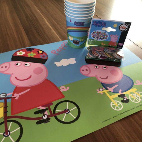 Peppa Pig Spiel basteln