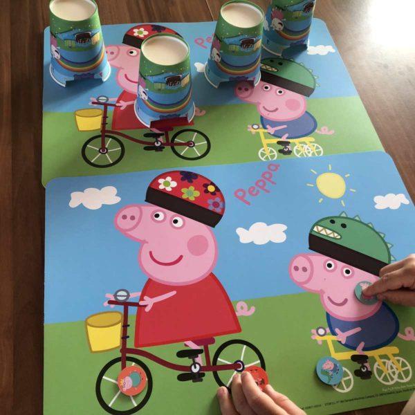 Peppa Pig Spiel für Kindergeburtstag