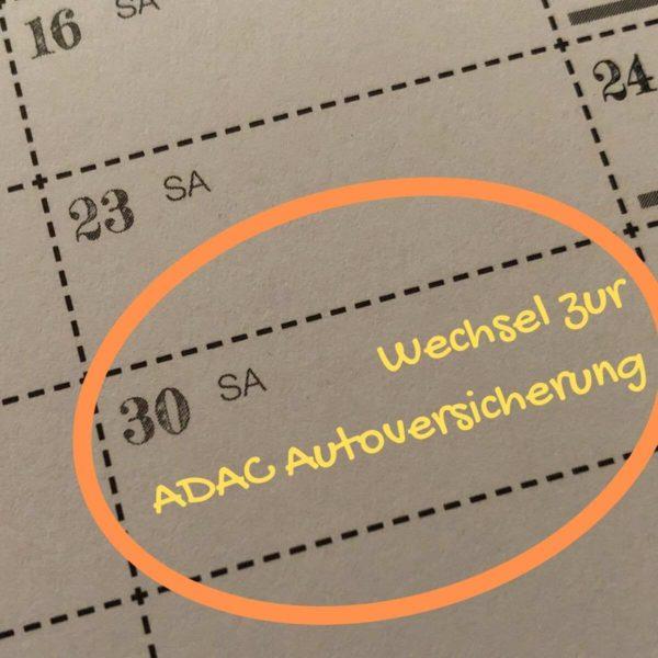 Zur ADAC Autoversicherung wechseln