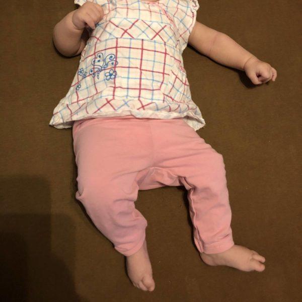 Entwicklung Baby mit drei Monaten Größe und Gewicht