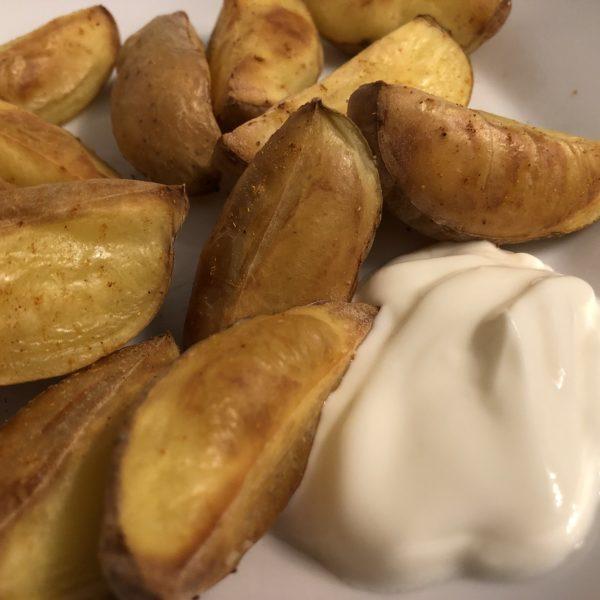 Rezept Ofenkartoffeln mit Quark