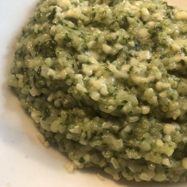 Rezept Risotto mit Spinat