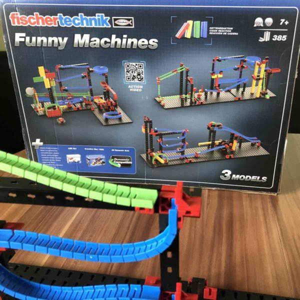 fischertechnik ADVANCED Funny Machines drei große Modelle