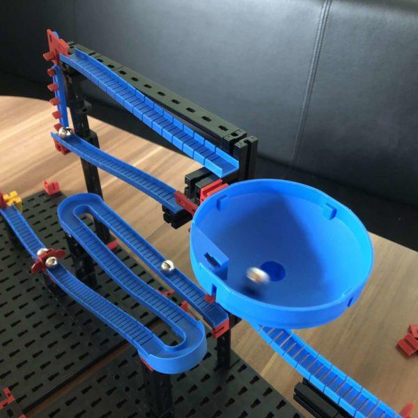 fischertechnik ADVANCED Funny Machines Kettenreaktionen testen