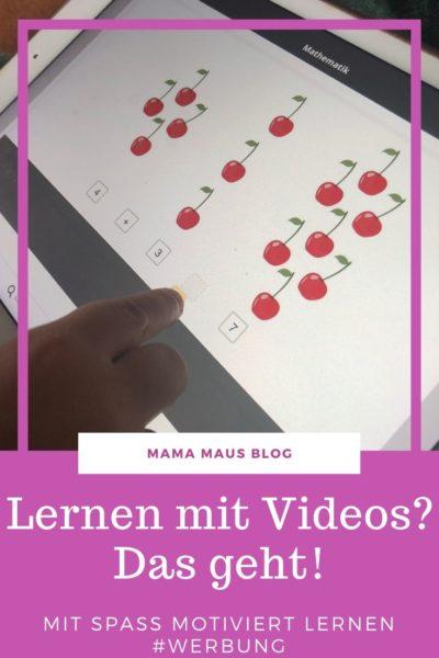 (Werbung) Wie schafft man es Kindern Spaß am Lernen für die Schule zu vermitteln. Sind Videos dazu ein gutes Mittel und wo findet man gute Lernvideos? #schule #bildung #lernen #lernplattform #spaßamlernen #lernenmitvideos