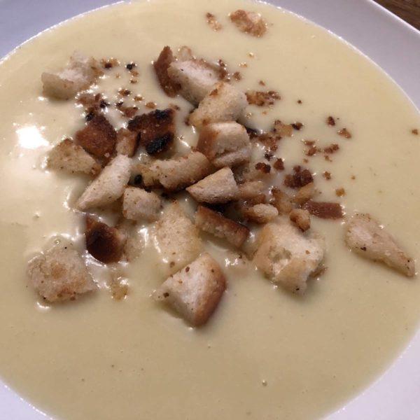 Rezept für Käse-Kartoffel-Suppe aus dem Thermomix