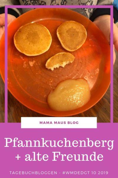 Tagebuchbloggen im Oktober 2019. Von Pfannkuchenbergen, Eis zum Frühstück, dem Kinderzimmer des Grauens und mehrfachem Spielbesuch. Großfamilienleben. #WMDEDGT #Großfamilie #Tagebuchbloggen #AlltagmitKindern #LebenmitKindern