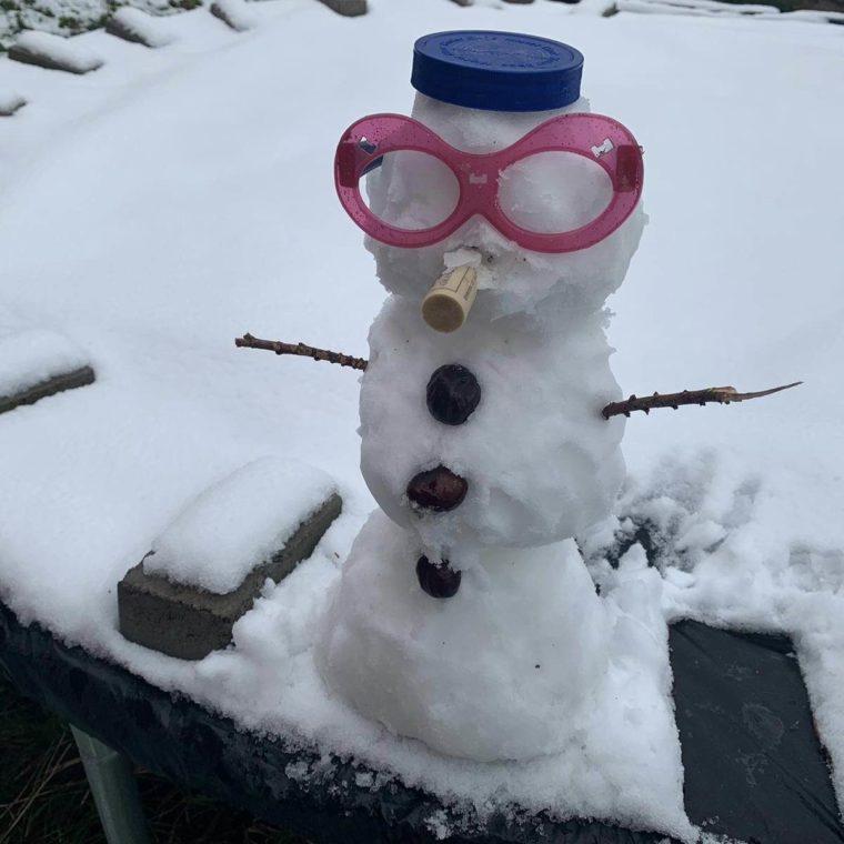 12 von 12 – 12 2019 – Erster Schnee