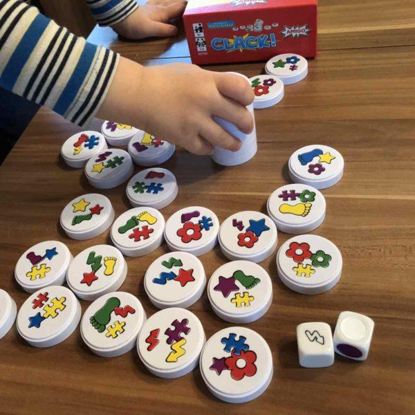 Amigo Clack! Spiel für Kindergartenkinder