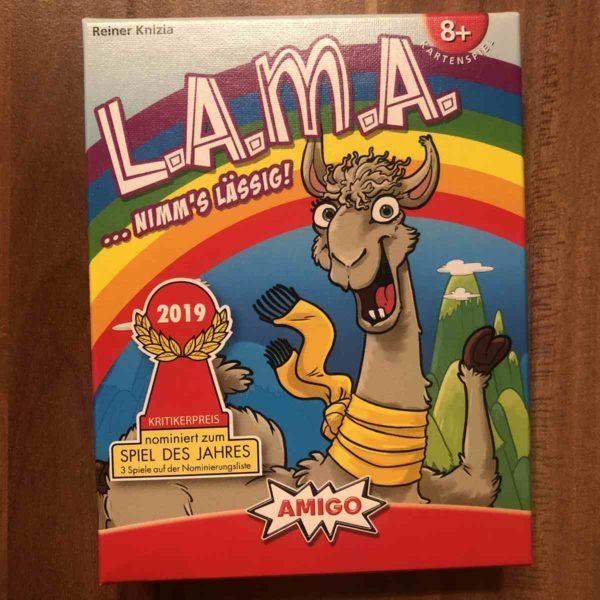 Amigo LAMA Kartenspiel
