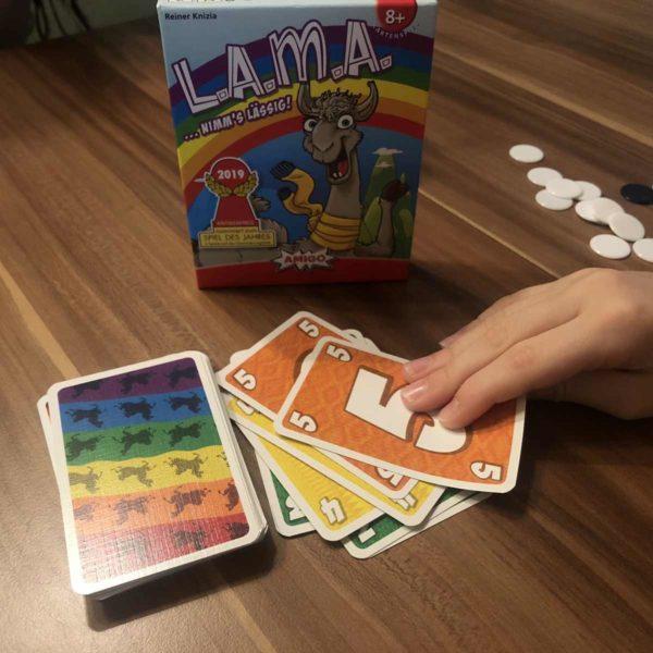 Amigo LAMA mit Kindern spielen