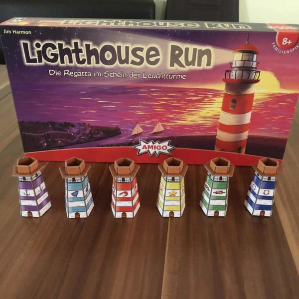 Amigo Lighthouse Run Brettspiel