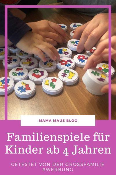 Anzeige+Verlosung - Unsere Tipps für Spiele für Familien und Kinder ab 4 Jahre #Brettspiel #Kartenspiel #Familienspiel #Kinderspiel #SpielenmitKindern #SpielefürKinder #SpielefürFamilien